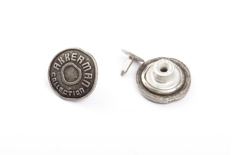 Пуговица Джинс.метал.№56(18мм) - 13797