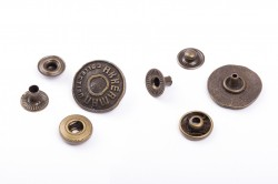 Кнопка Джинс. Метал. №60(20мм) - 13799 фото №1