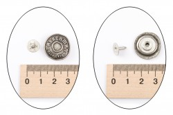 Пуговица Джинс.метал.№56(18мм) - 13797 фото №2